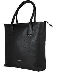 Michael Kors Black Mens Leather Tote Bag