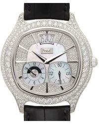Piaget Black Tie Emperador Cushion Watch - Metallic