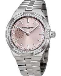 Vacheron Constantin Overseas Small Automatic Ladies Watch -b171 - Metallic