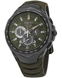 Seiko Coutura Chronograph Quartz Watch - Multicolor