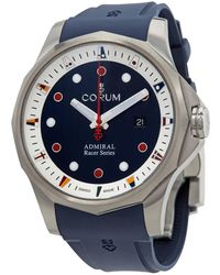 Corum Admiral's Cup Racer Automatic Blue Dial Watch