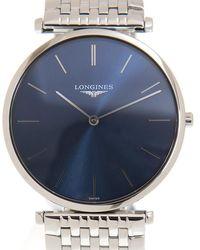 Longines La Grande Classique De Quartz Blue Dial Ladies Watch