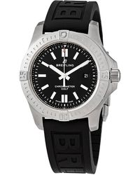 Breitling Colt Automatic Volcano Black Dial Mens Watch