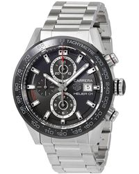 Tag Heuer Pre-owned Carrera Chronograph Automatic Mens Watch - Metallic