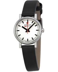 Mondaine Evo Petite White Dial Ladies Watch A6583030111sbb - Multicolor