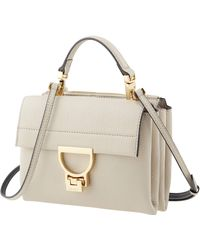 Coccinelle Ladies Ivory Arlettis Top Handle Bag - Multicolour