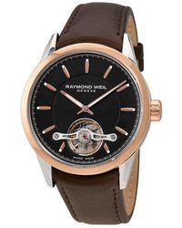 Raymond Weil Freelancer Automatic Mens Watch -sc5-20001 - Pink