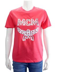 MCM Ladies Logo Group Short Sleeve - Red
