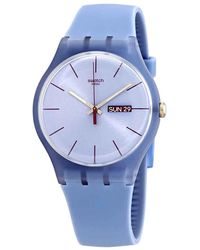 Swatch Sea Rebel Quartz Blue Dial Unisex Watch