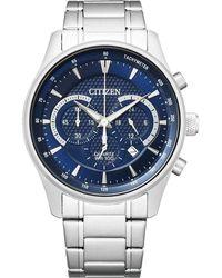 Citizen Quartz Blue Dial Watch -51l