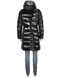 Michael Kors Ladies Black Quilted Nylon Puffer Coat