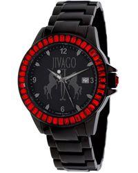 Jivago Folie Black Dial Mens Watch