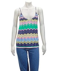 J.won Multicolour Cami With Stripes, Brand