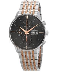 Junghans - Meister Chronoscope Chronograph Automatic Mens Watch - Lyst