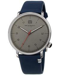 Bruno Magli Roma Moderna Quartz Grey Dial Watch