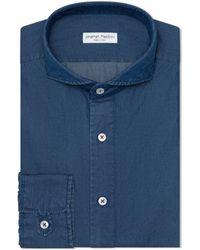 Jonathan Mezibov Pearson Denim Shirt - Blue