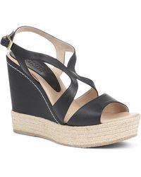 Jones Bootmaker Wedge Sandals - Black