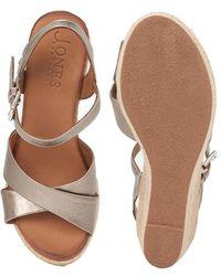 Jones Bootmaker Peep-toe Wedge Sandal - Multicolour