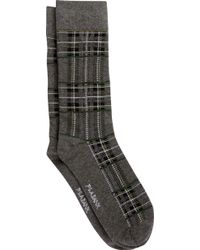 Jos. A. Bank - Jos.a.bank Plaid Socks, One-pair - Lyst