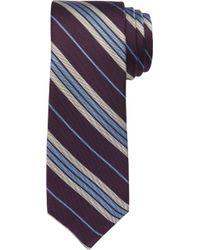 Jos. A. Bank 1905 Collection Multi-stripe Tie Clearance - Purple