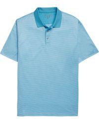 Jos. A. Bank - David Leadbetter Jacquard Circle Pattern Short-sleeve Men's Polo Shirt - Big & Tall - Lyst
