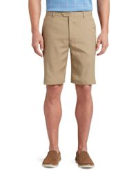 Jos. A. Bank - David Leadbetter Tailored Fit Flat Front Shorts - Lyst