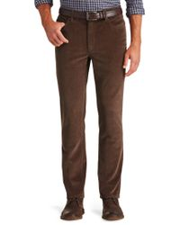 Jos. A. Bank | 1905 Tailored Fit 5-pocket Corduroy Pants Clearance | Lyst