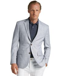 Jos. A. Bank - Executive Collection Tailored Fit Plaid Sportcoat Clearance - Lyst