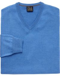 Jos. A. Bank - Traveler Collection Merino V Neck Sweater - Big And Tall Clearance - Lyst