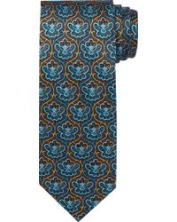 Jos. A. Bank Traveller Collection Lotus Tie Clearance - Black