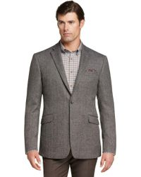 Jos. A. Bank - 1905 Collection Tailored Fit Herringbone Sportcoat Clearance - Lyst