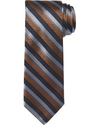 Jos. A. Bank Reserve Collection Stripe Tie Clearance - Blue