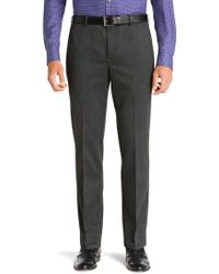Jos. A. Bank - Traveller Plain Front Heathered Pant Clearance - Lyst