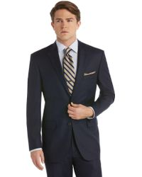 Jos. A. Bank Traveler's Collection Tailored Fit Suit Separates Coat - Blue