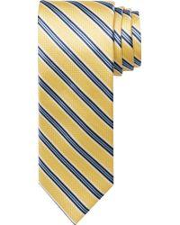 Jos. A. Bank Traveler Collection Stripe Tie - Long - Blue
