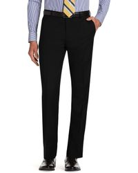 Jos. A. Bank - Classic Collection Suit Separate Slim Fit Plain Front Trousers - Lyst