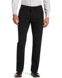 Jos. A. Bank - Joseph Abboud Traditional Fit Sateen Pants Clearance - Lyst
