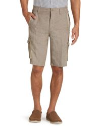 Jos. A. Bank - Joseph Abboud Tailored Fit Cargo Shorts Big And Tall Clearance - Lyst