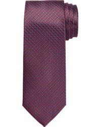 Jos. A. Bank - Traveler Collection Micro Check Tie - Lyst