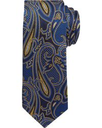 Jos. A. Bank Reserve Collection Paisley Tie - Yellow