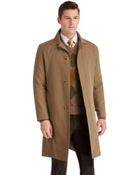 Jos. A. Bank - Executive Collection Traditional Fit 3/4 Length Raincoat - Lyst