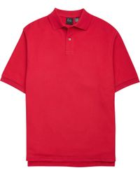 Jos. A. Bank - Traveler Tailored Fit Short Sleeve Pique Polo Clearance - Lyst