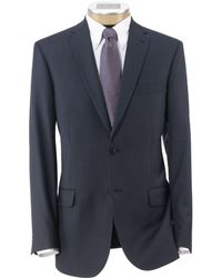 Jos. A. Bank - Traveller Tailored Fit 2-button Suit With Plain Front Trousers - Lyst