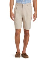 Jos. A. Bank - Stays Cool Traditional Fit Pleated Front Oxford Shorts - Big & Tall - Lyst