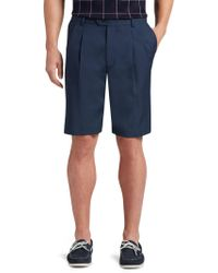 Jos. A. Bank - David Leadbetter Traditional Fit Pleated Front Performance Golf Shorts Clearance By - Lyst