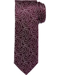 Jos. A. Bank Reserve Collection Antique Paisley Tie - Purple