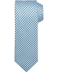 Jos. A. Bank 1905 Collection Tonal Check Tie Clearance - Blue