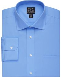 Jos. A. Bank - Xecutive Collection Tailored Fit Solid Dress Shirt - Lyst