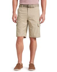 Jos. A. Bank - Joseph Abboud Tailored Fit Rip-stop Cargo Shorts - Big & Tall Clearance By - Lyst