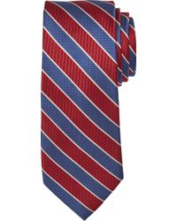 Jos. A. Bank Signature Collection Textured Stripe Tie Clearance